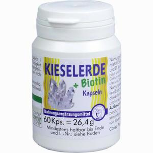 Abbildung von Kieselerde + Biotin Kapseln 60 Stück