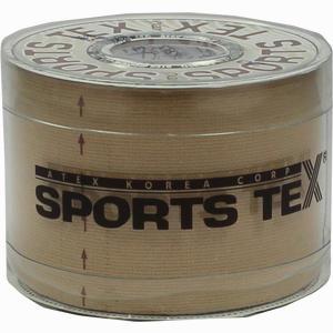 Abbildung von Kinesio Sports-tex Tape 5cmx5m Beige Pflaster 1 Stück