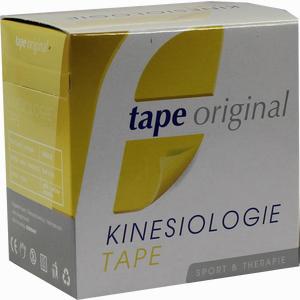 Abbildung von Kinesio Tape Original Gelb Kinesiologic 1 Stück