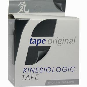 Abbildung von Kinesio Tape Original Schwarz Kinesiologic 1 Stück