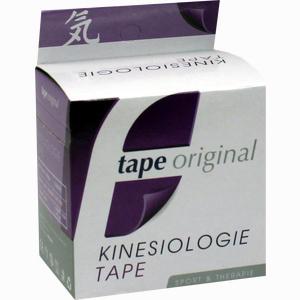 Abbildung von Kinesio Tape Original Violett Kinesiologic 1 Stück