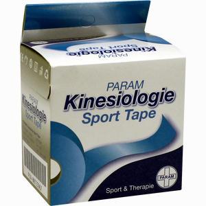 Abbildung von Kinesiologie Sport Tape 5cmx5m Blau Pflaster 1 Stück