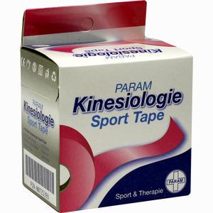 Abbildung von Kinesiologie Sport Tape 5cmx5m Pink Pflaster 1 Stück