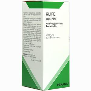 Abbildung von Klife Spag. Peka Tropfen 100 ml