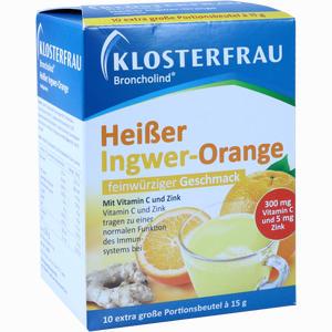 Abbildung von Klosterfrau Broncholind Heißer Ingwer- Orange Granulat  150 g