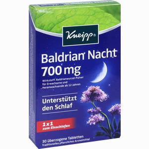 Abbildung von Kneipp Baldrian Nacht Tabletten 30 Stück