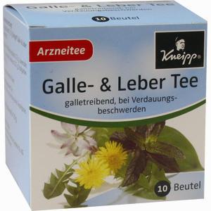 Abbildung von Kneipp Galle- und Lebertee Filterbeutel 10 Stück