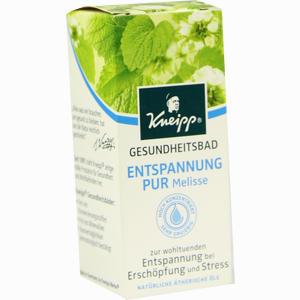 Abbildung von Kneipp Gesundheitsbad Entspannung Pur Melisse Öl 20 ml