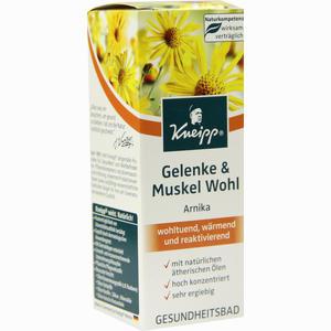 Abbildung von Kneipp Gesundheitsbad Gelenke & Muskel Wohl Arnika Bad 100 ml