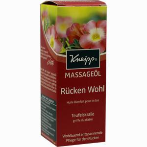 Abbildung von Kneipp Massageöl Rücken Wohl 100 ml