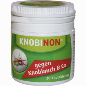Abbildung von Knobinon Kautablette Dose Tabletten 20 Stück