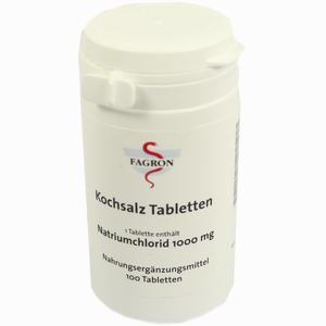 Abbildung von Kochsalz 1000mg Tabletten  100 Stück