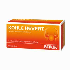 Abbildung von Kohle Hevert Tabletten 50 Stück