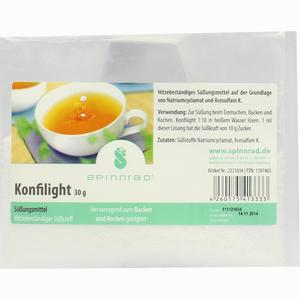 Abbildung von Konfilight Ht Süßungsmittel Pulver 30 g