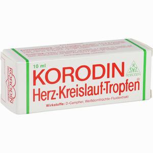 Abbildung von Korodin Herz Kreislauf Tro Tropfen 10 ml