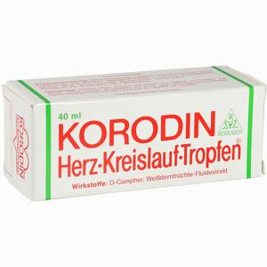 Abbildung von Korodin Herz Kreislauf Tro Tropfen 40 ml
