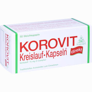 Abbildung von Korovit Kreislauf- Kapseln  50 Stück