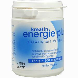 Abbildung von Kreatin Energie Plus Tabletten 200 g