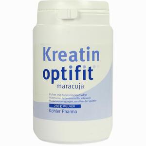 Abbildung von Kreatin Optifit Maracuja Granulat 250 g