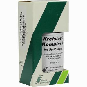 Abbildung von Kreislauf- Komplex L Ho- Fu- Complex Tropfen 30 ml