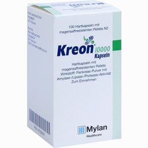 Abbildung von Kreon 10000 Kapseln Solvay arzneimittel 100 Stück