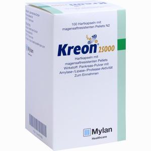 Abbildung von Kreon 25.000 Kapseln  Solvay arzneimittel 100 Stück