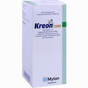 Abbildung von Kreon 25000 Kapseln Solvay arzneimittel 200 Stück