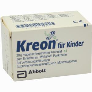 Abbildung von Kreon für Kinder Pellets  20 g