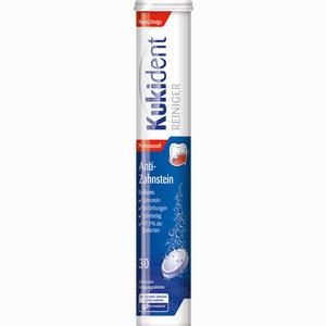 Abbildung von Kukident Zahnweiss Intensiv Reiniger Tabletten 30 Stück