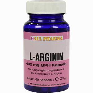 Abbildung von L- Arginin 400mg Kapseln  60 Stück