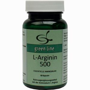 Abbildung von L- Arginin 500 Kapseln 60 Stück