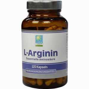 Abbildung von L- Arginin 500 Mg Kapseln 120 Stück