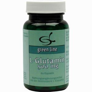 Abbildung von L- Glutamin 500mg Kapseln 11 a nutritheke 60 Stück