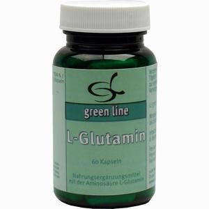 Abbildung von L- Glutamin Kapseln 60 Stück