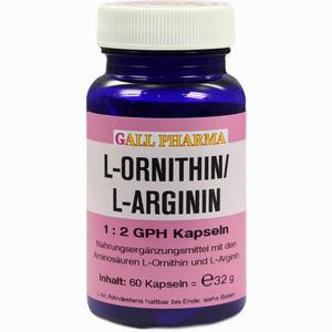 Abbildung von L- Ornithin/l- Arginin 1:2 Gph Kapseln  60 Stück