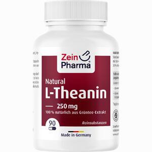Abbildung von L- Theanin Natural 250 Mg - 90 Kapseln Zeinpharma  90 Stück