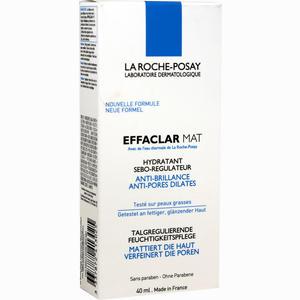 Abbildung von La Roche- Posay Effaclar Mat Talgregulierende Feuchtigkeitspflege Creme 40 ml