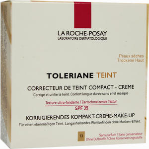 Abbildung von La Roche- Posay Toleriane Teint Korrigierendes Kompakt- Creme- Make- Up Nr. 13 Sandy Beige Puder 9 g