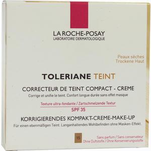 Abbildung von La Roche- Posay Toleriane Teint Korrigierendes Kompakt- Creme- Make- Up Nr. 15 Golden 9 g