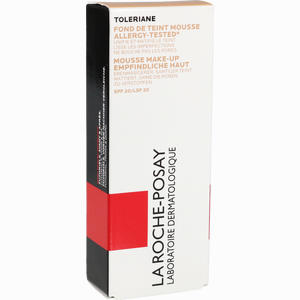 Abbildung von La Roche- Posay Toleriane Teint Mattierendes Mousse- Make- Up 03 Sable 30 ml