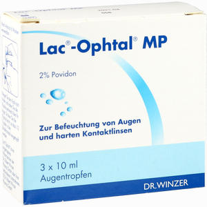 Abbildung von Lac- Ophtal Mp Augentropfen 3 x 10 ml