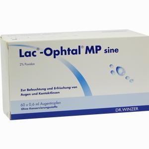 Abbildung von Lac- Ophtal Mp Sine Augentropfen 60 x 0.6 ml