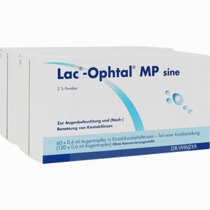 Abbildung von Lac Ophtal Mp Sine Augentropfen 120 x 0.6 ml