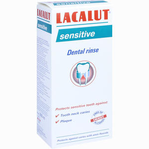 Abbildung von Lacalut Sensitive Zahnspül- Lösung Mundwasser 300 ml