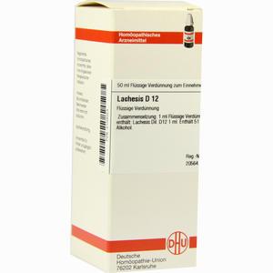 Abbildung von Lachesis D12 Dilution 50 ml