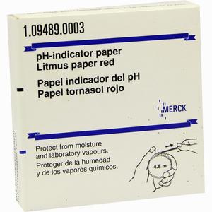 Abbildung von Lackmuspapier Rot Rolle 1 Stück