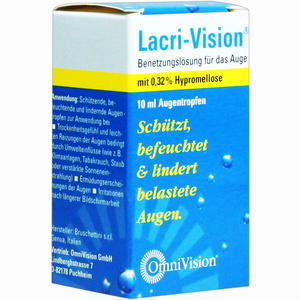 Abbildung von Lacri- Vision Augentropfen 10 ml