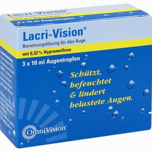 Abbildung von Lacri- Vision Augentropfen 3 x 10 ml