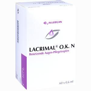 Abbildung von Lacrimal O.k. N Augentropfen 60 x 0.6 ml
