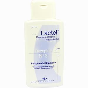 Abbildung von Lactel Nr. 3 Bioschwefel Shampoo gegen Stark Fettende Kopfhaut  200 ml